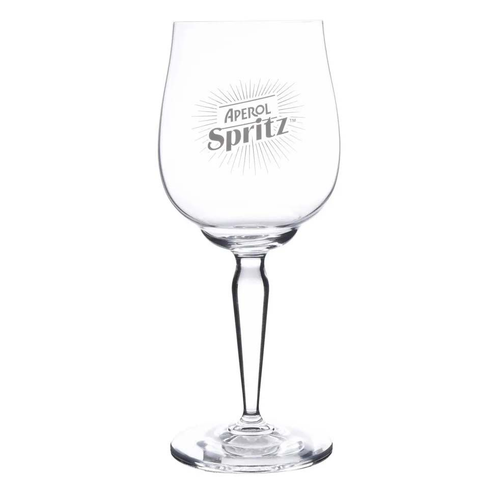 Caixa 6 Taças Aperol Spritz Bohemia Cristal 490ml