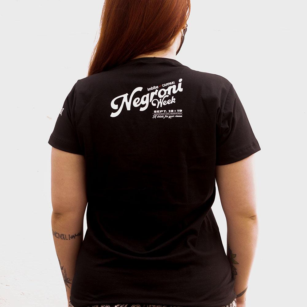 Camiseta Feminina Campari Negroni Week
