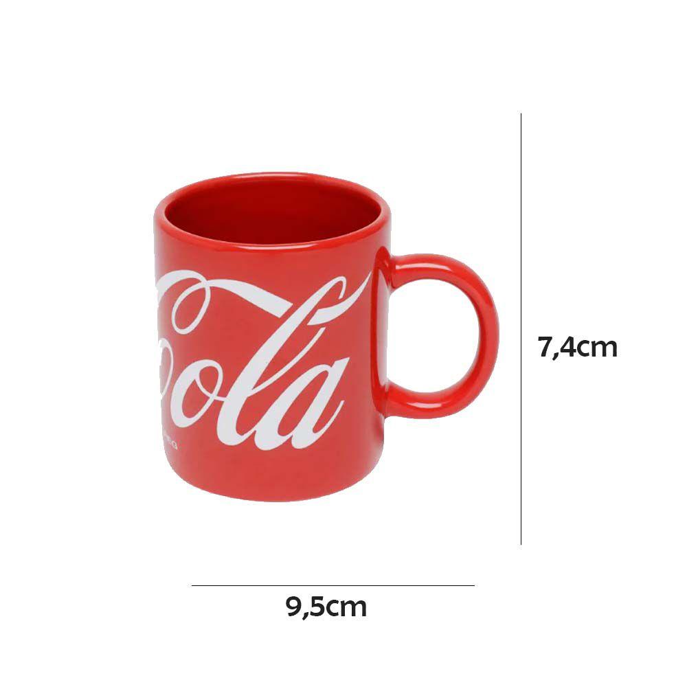 Caneca Coca-Cola de Porcelana 140ml