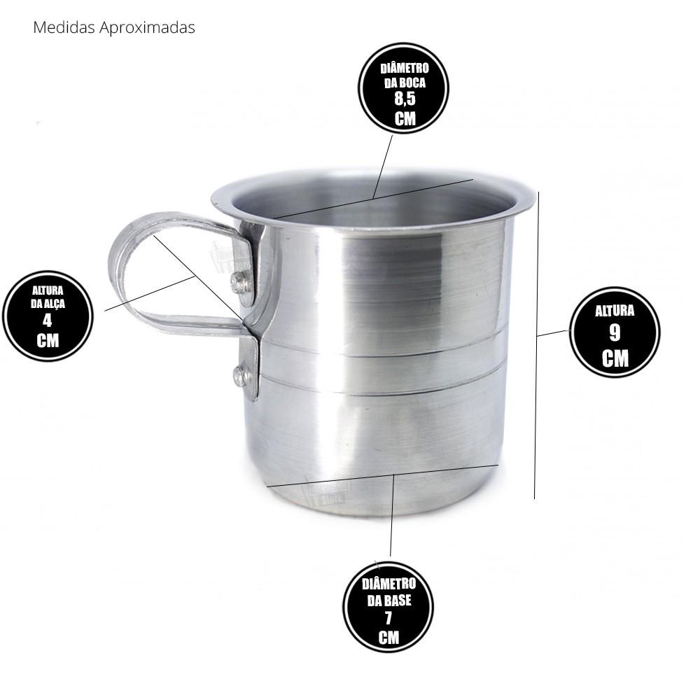 Caneca de Alumínio para Eventos | Moscow Mule, Coquetéis, Variações
