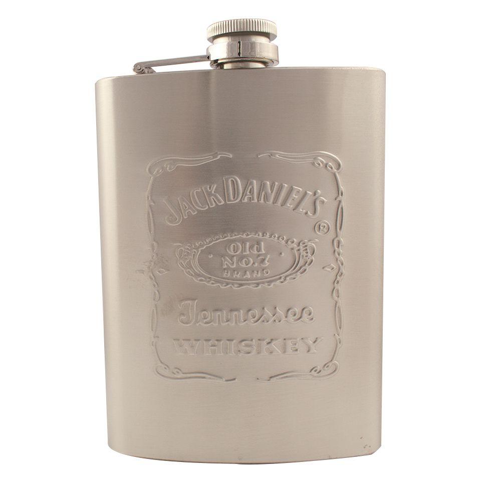 Cantil de bolso para bebidas Inox 240 ml