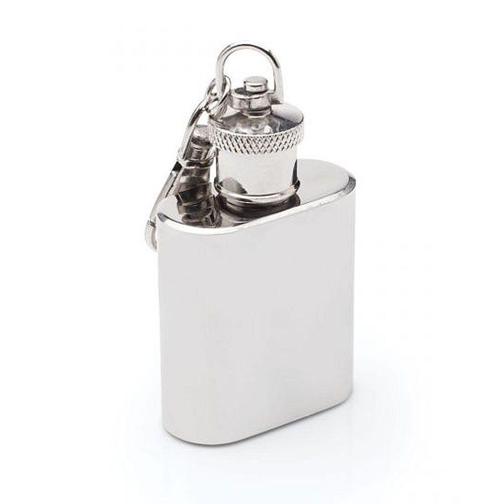 Chaveiro Cantil Porta Whisky Inox 30ml