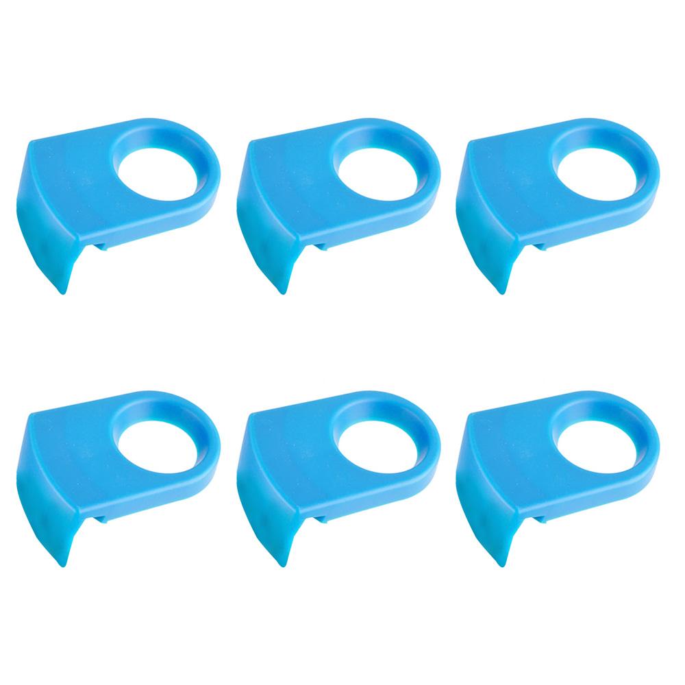 Combo Promocional 6 Clips Plásticos Coronita Suporte Long Neck