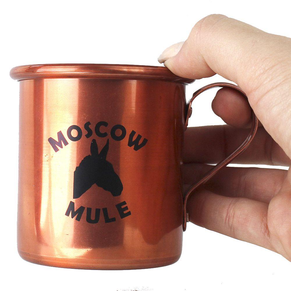 Combo Moscow Mule Iniciante Espuma Mix e Caneca de Alumínio