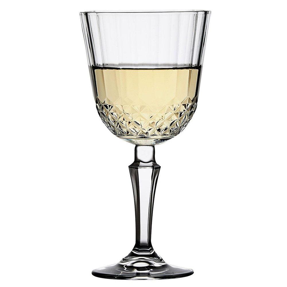 Conjunto 3 Taças Vidro Pasabahce Diony Vinho Branco 230ml