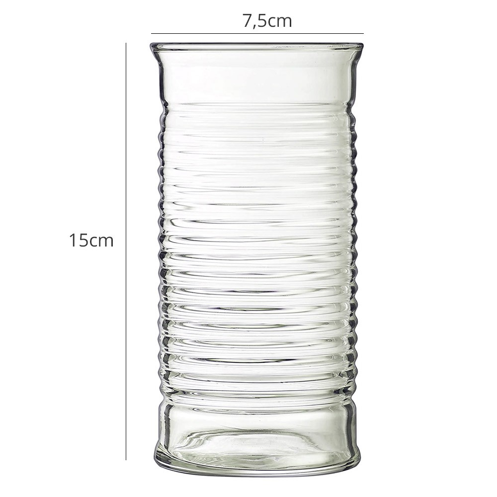 Copo Alto Conserve Moi 470 ml Luminarc Vidro