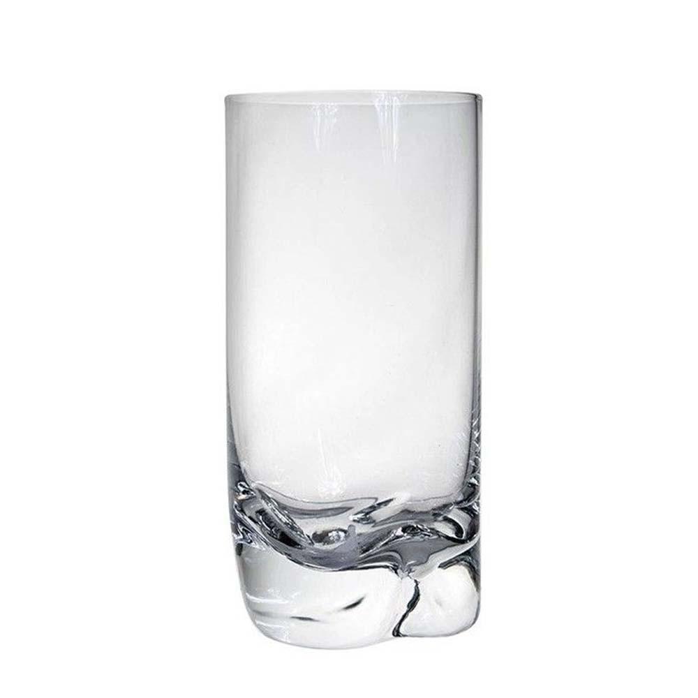 Copo Alto Rocks Em Cristal Ecológico 350ml Transparente