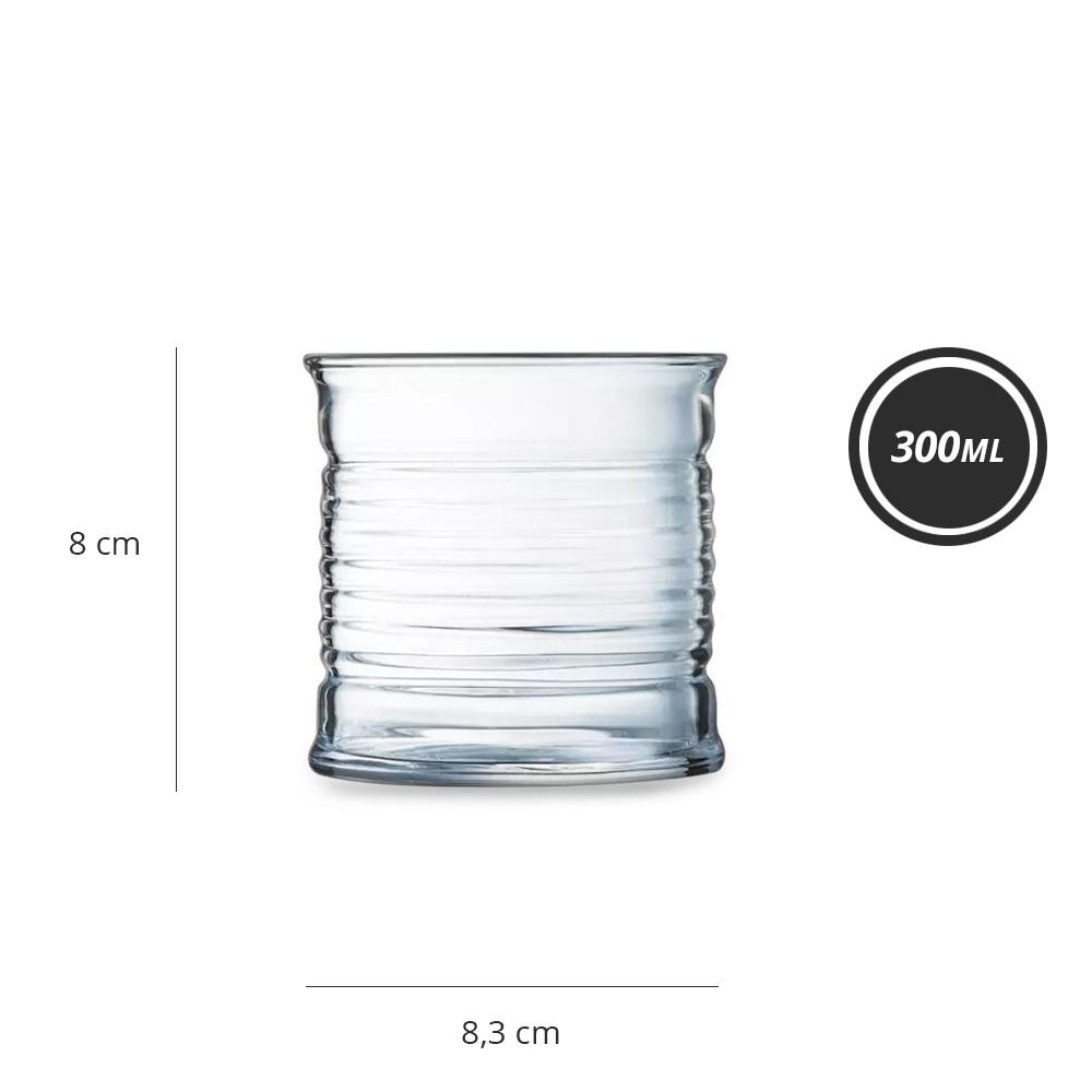 Copo Baixo Conserve Moi 300 ml Luminarc