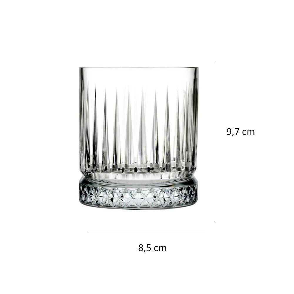 Copo baixo Elysia em vidro 355ml