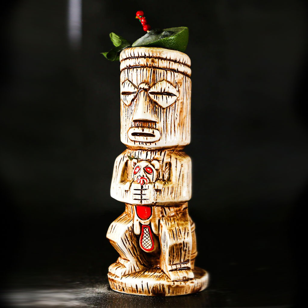 Copo De Ceramica Modelo Tiki Shameful 500 ml