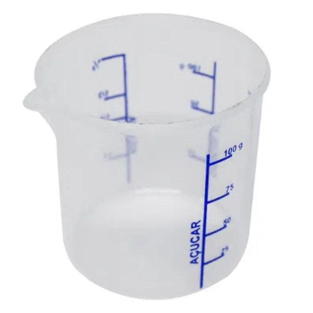 Copo Dosador de Plástico Com Bico 100ml