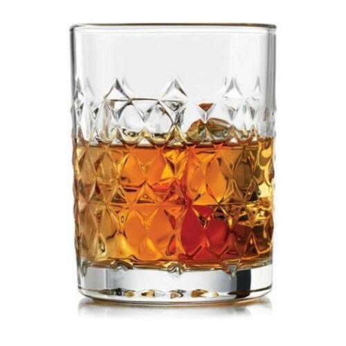 Copo Harlow Whisky Libbey Vidro Transp 325ml