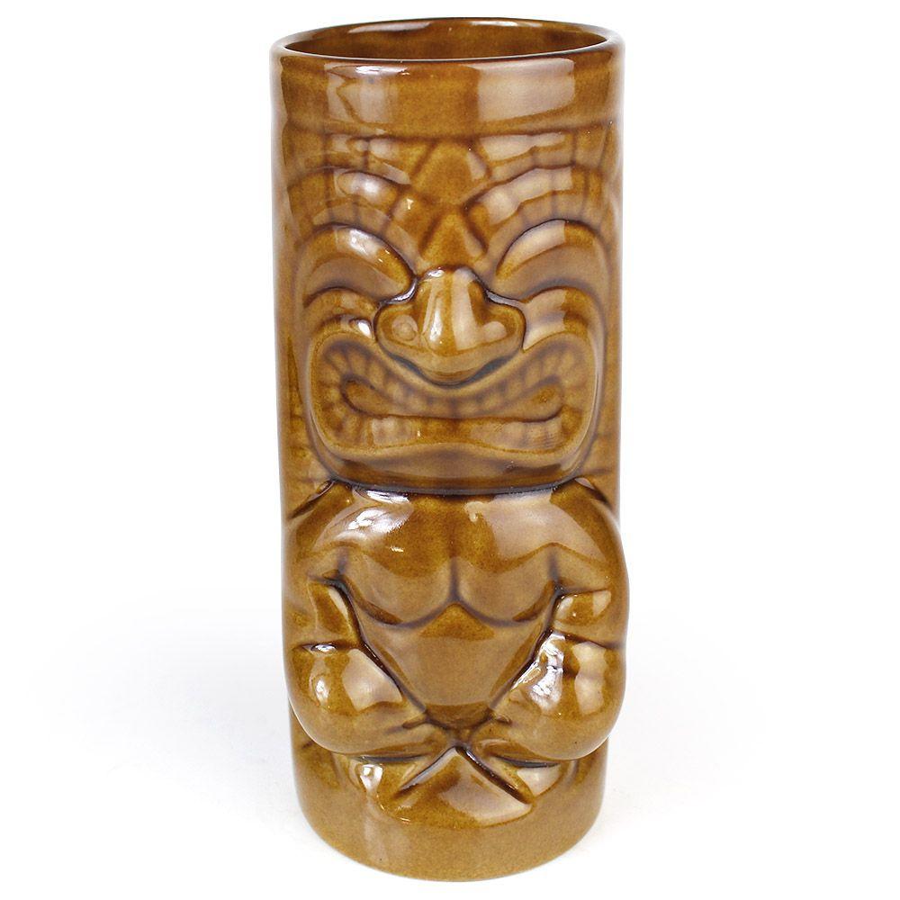 Copo Long Tiki Mug Maikai Maori 330ml Ceramica