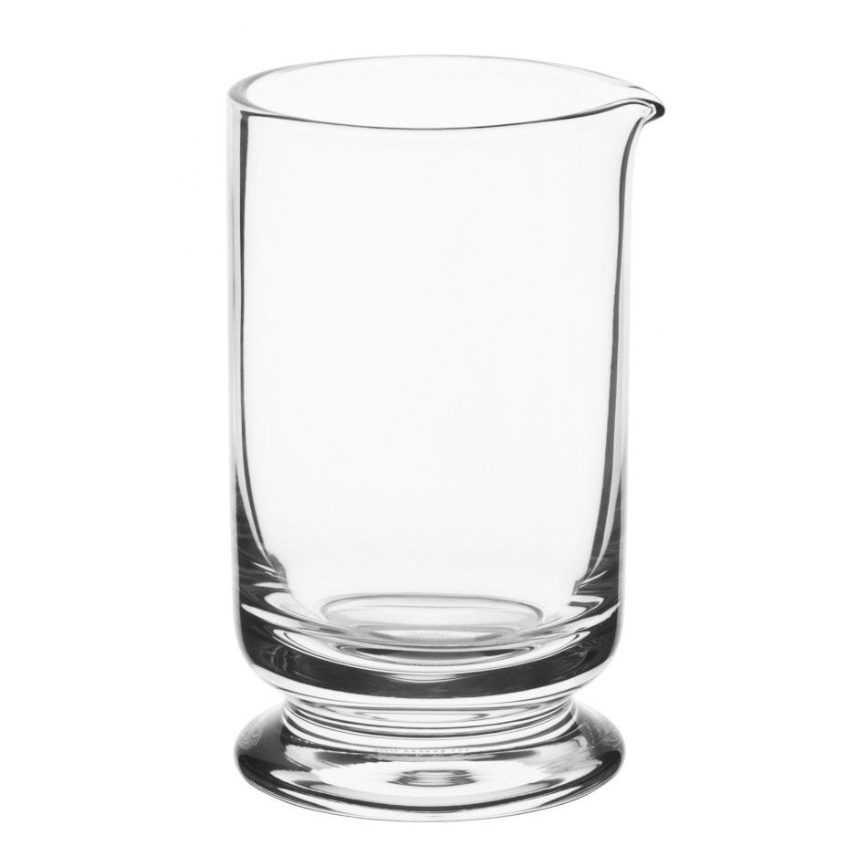 Copo Mixing Glass com Base Vidro 650ml Luxury