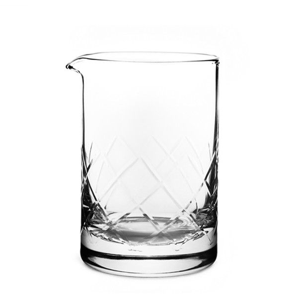Copo Mixing Glass Yarai 650ml Diamond com Base Reforçada