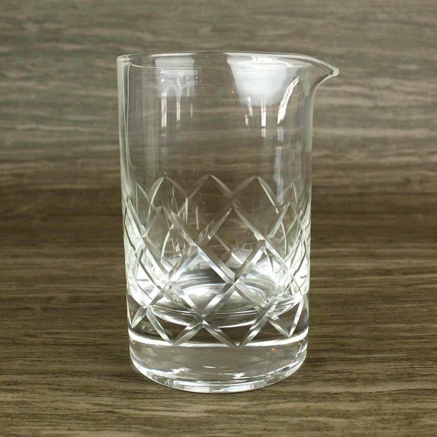 Copo Mixing Glass 650ml Diamond com Base Reforçada