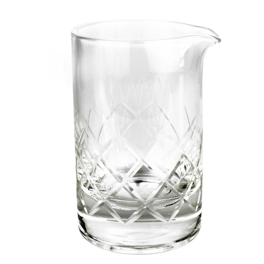 Copo Mixing Glass 650ml Diamond com Base Reforçada
