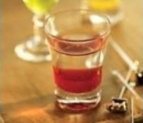 Copo shot de vidro liso