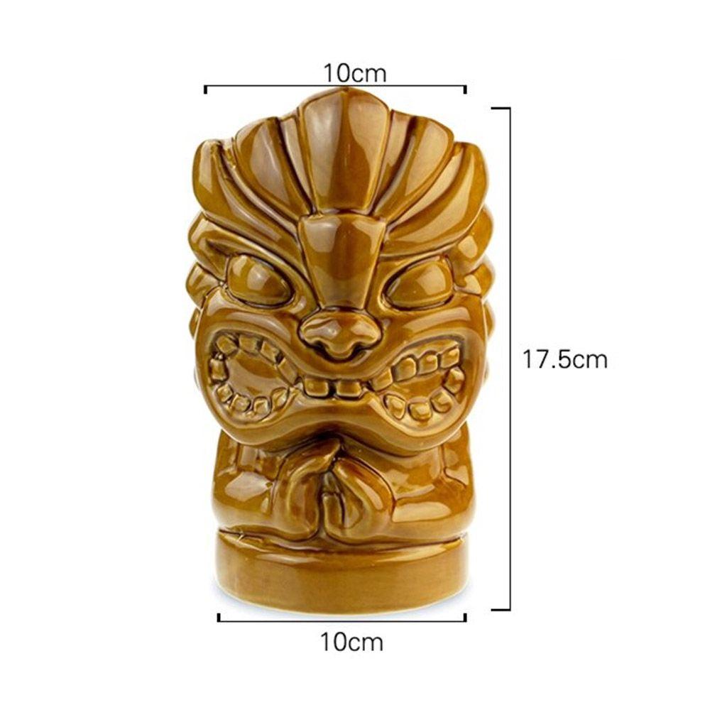 Copo Tiki Mug Aloha Hands Grande 850ml Ceramica