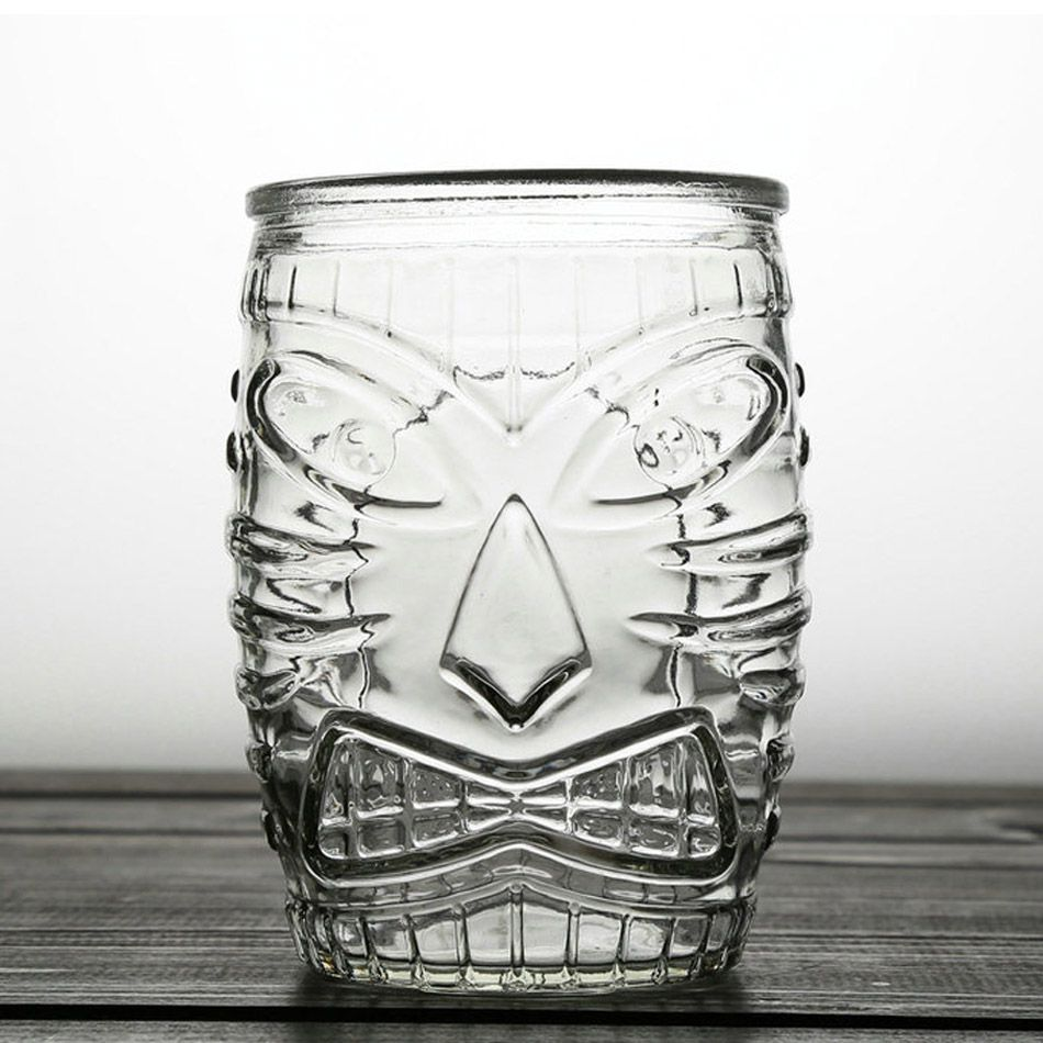 Copo Tiki Mug de Vidro Old Fashioned 500ml
