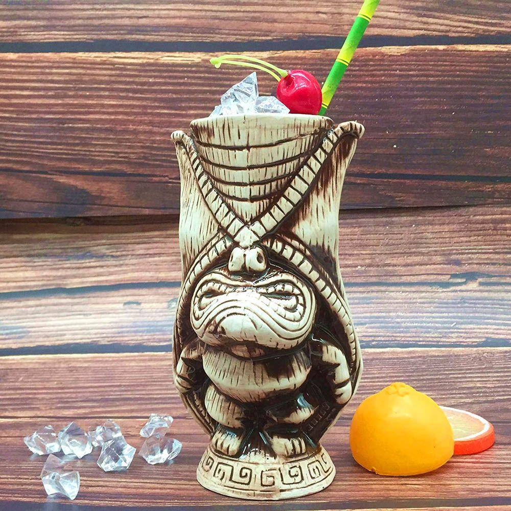 Copo Tiki Mug Kane 400ml Cerâmica