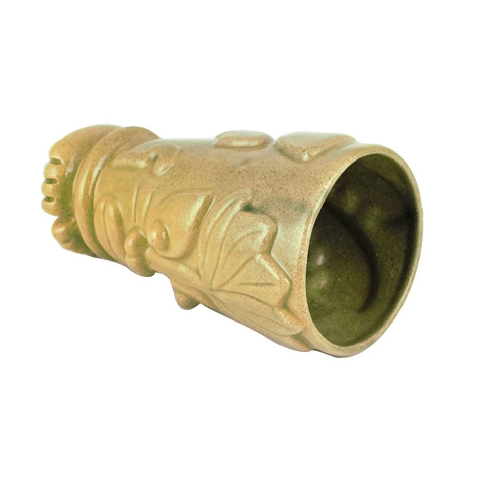 Copo Tiki Mug Verde 500ml Cerâmica