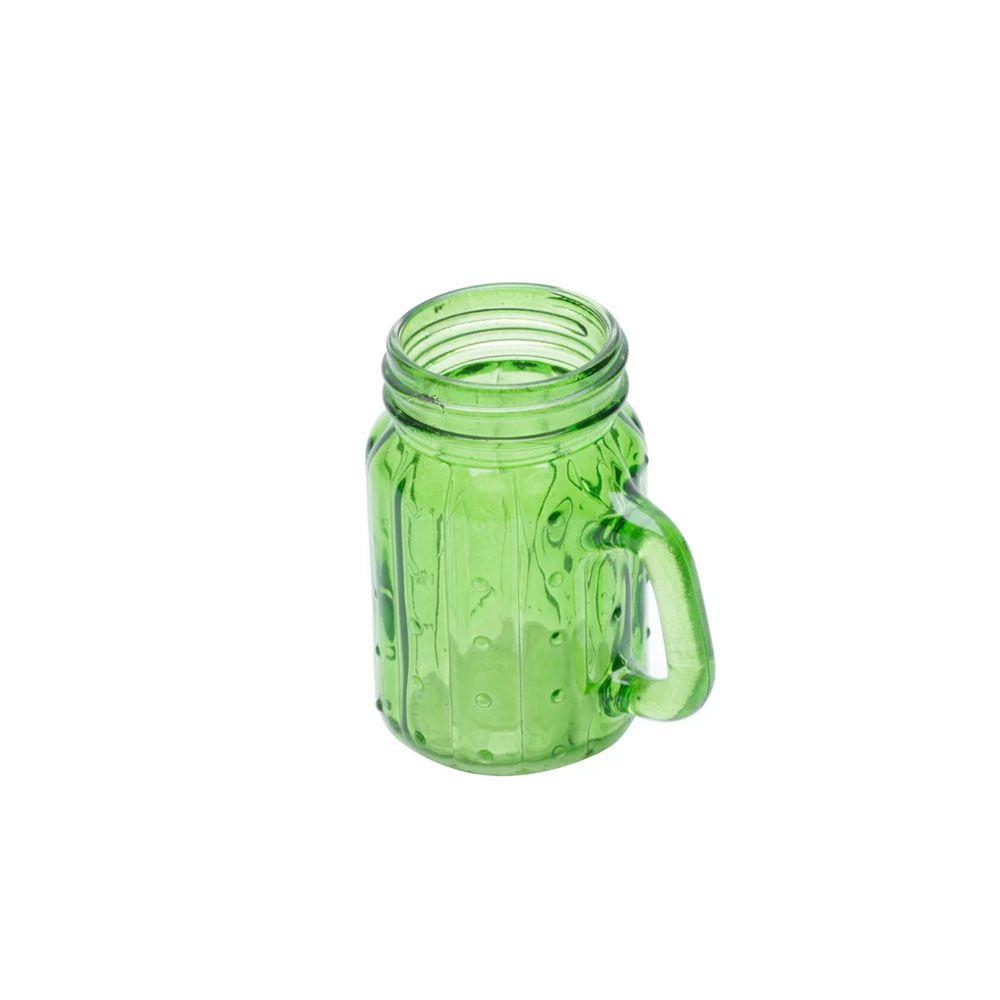 Copo Vidro Cactus Verde 125ml
