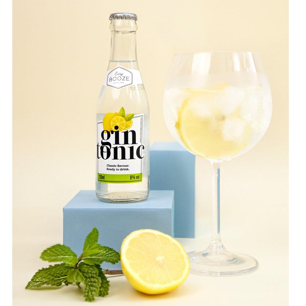 Coquetel Acoólico Eazy Booze 200ml - Gin + Tônica GT
