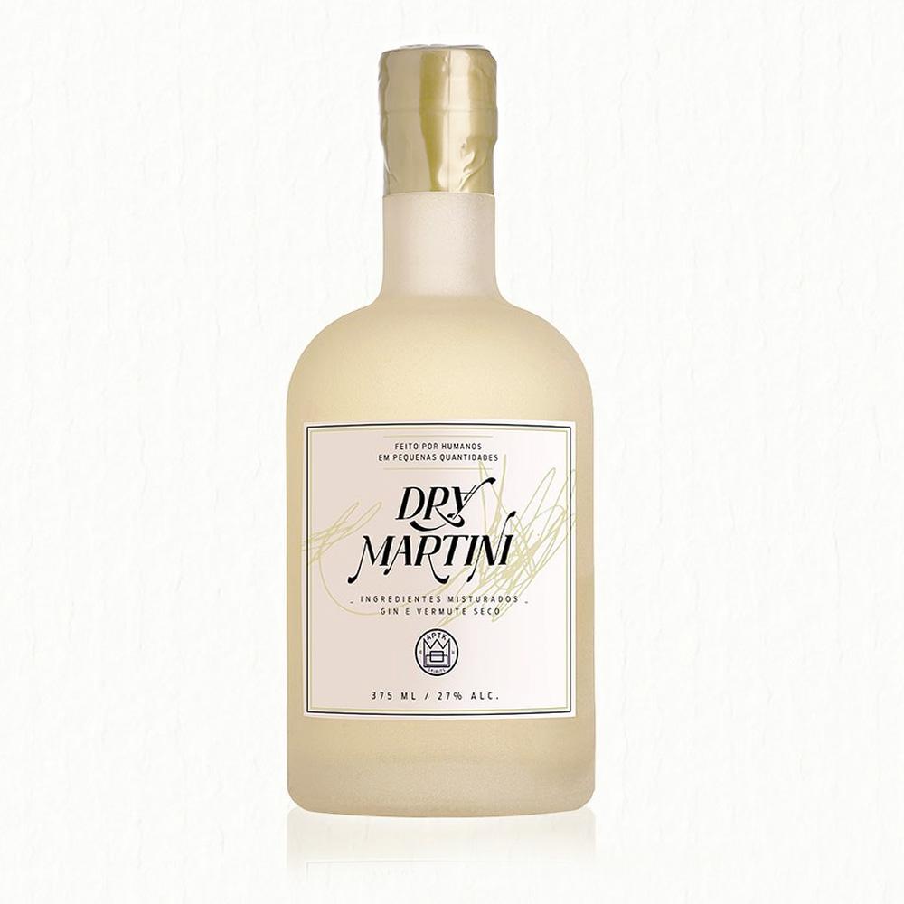 Coquetel Engarrafado Drink 375ml Dry Martini APOTHEK