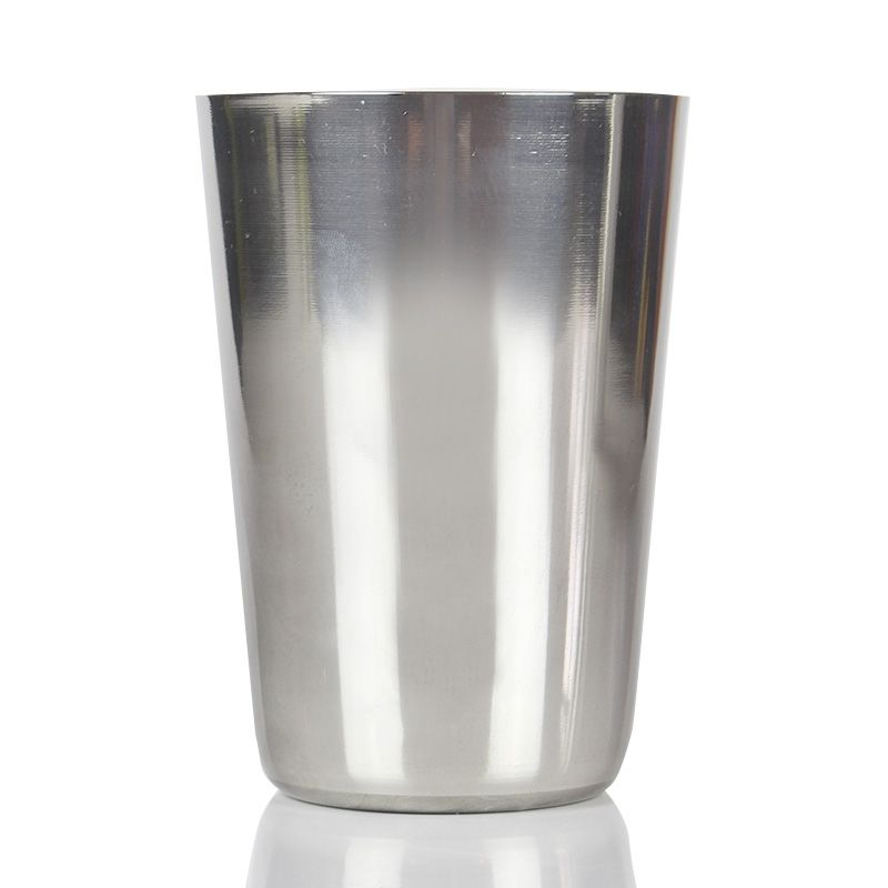 Coqueteleira de Boston Inox 16oz Sem Peso 480ml  (Tampa)