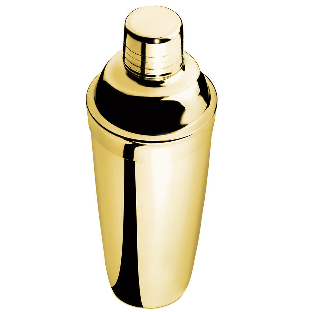 Coqueteleira Inox Standard Tradicional 750ml Dourada