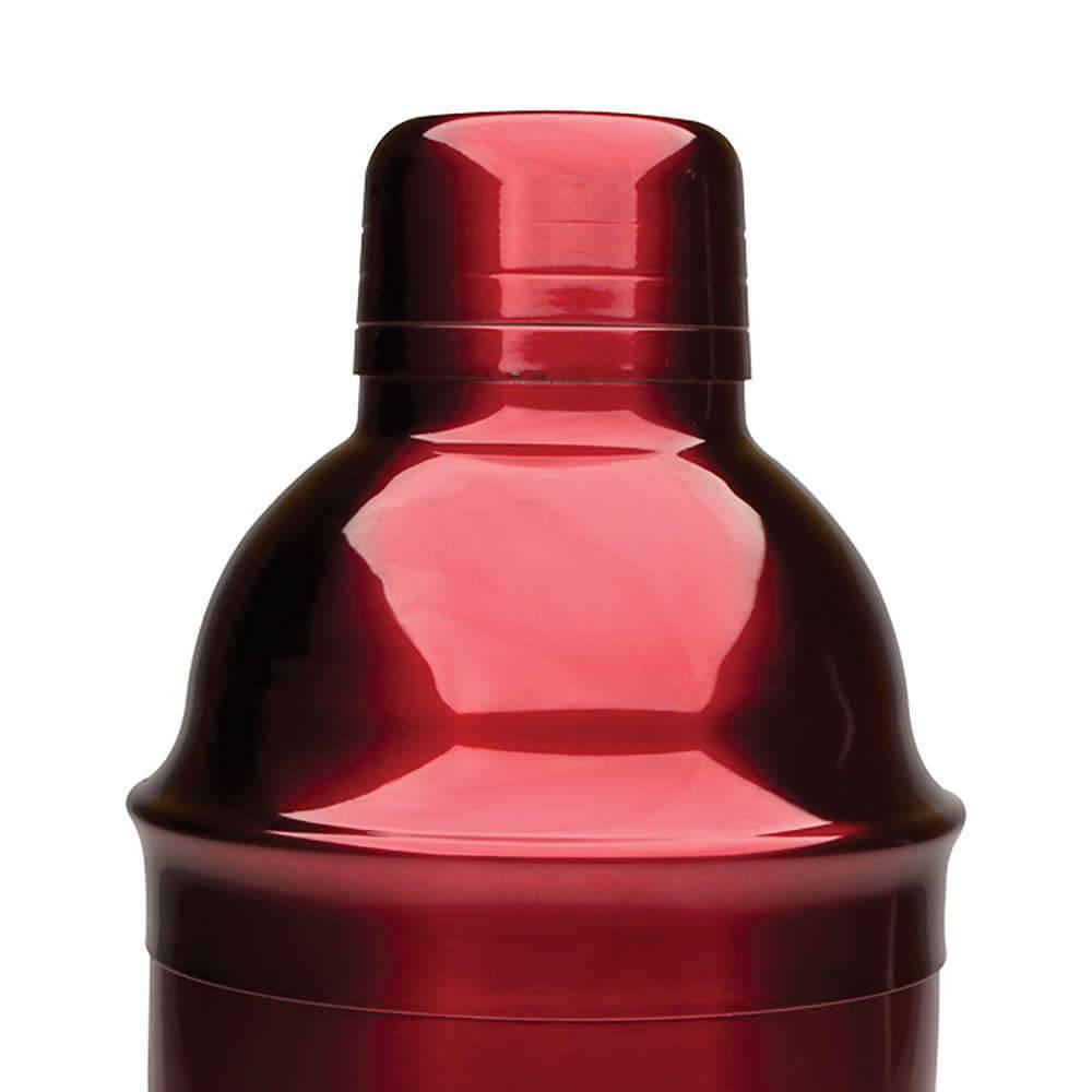 Coqueteleira Tradicional Red Vermelha 550ml Bon Gourmet