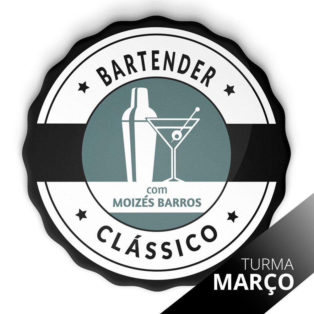 Curso de Bartender Clássico Mixologia I - SP