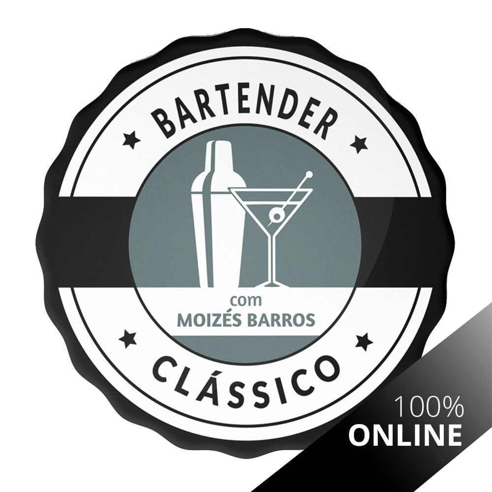 Curso Online de Bartender Clássico - Mixologia I