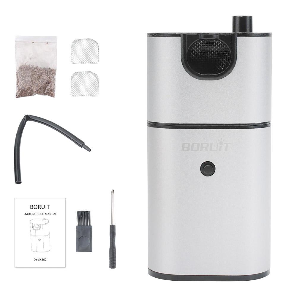 Defumador Portátil para Drinks e Coquetéis Smoke Gun BORUIT