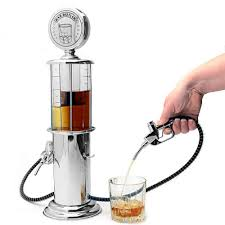 Dispenser Bomba Gasolina Prata - BAR BUTLER