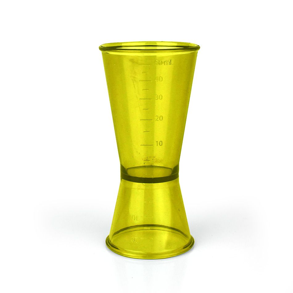 Dosador de Bebidas 50ml e 20ml com Medidas Poliestireno