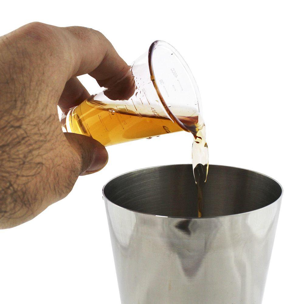 Dosador de Bebidas Policarbonato Duplo 30ml x 50ml