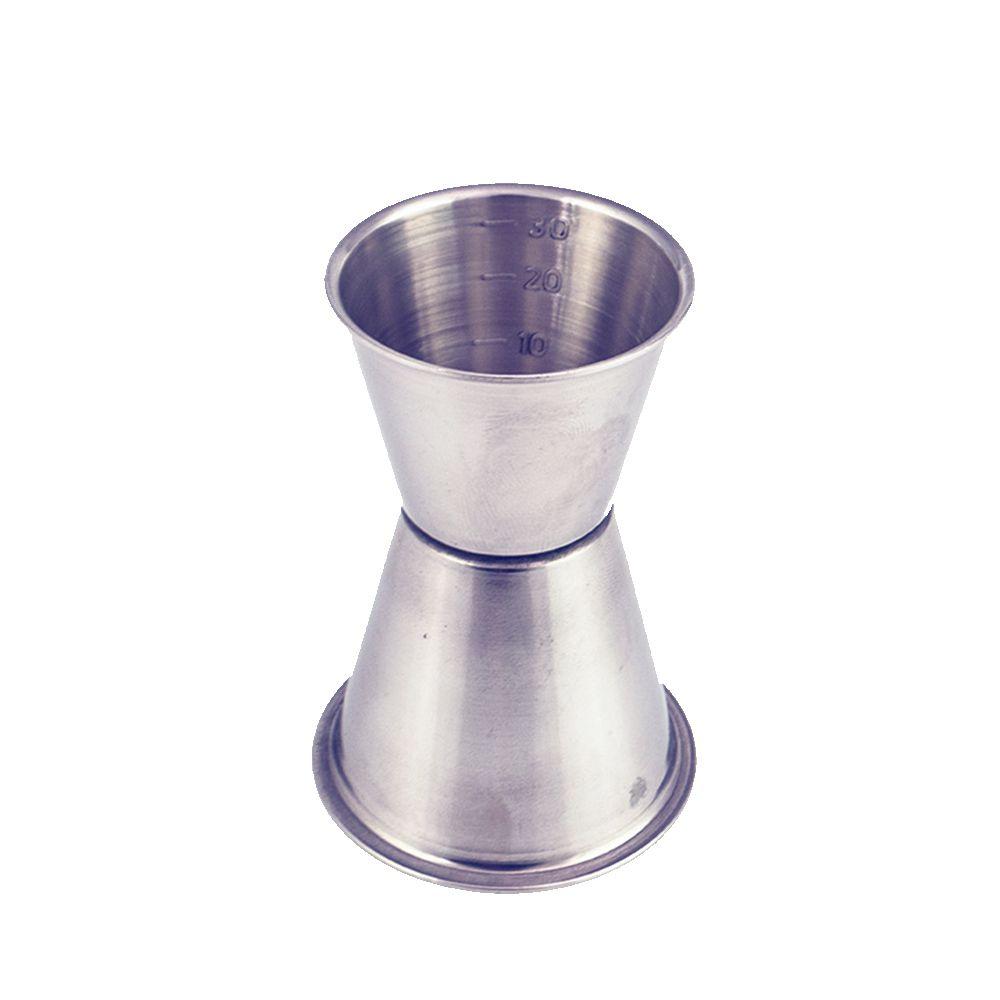 Dosador de Bebidas Duplo com Marcação 30ml e 50ml
