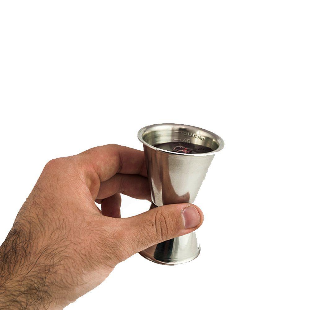 Dosador de Bebidas Duplo Marcação 30ml e 50ml BARPRO