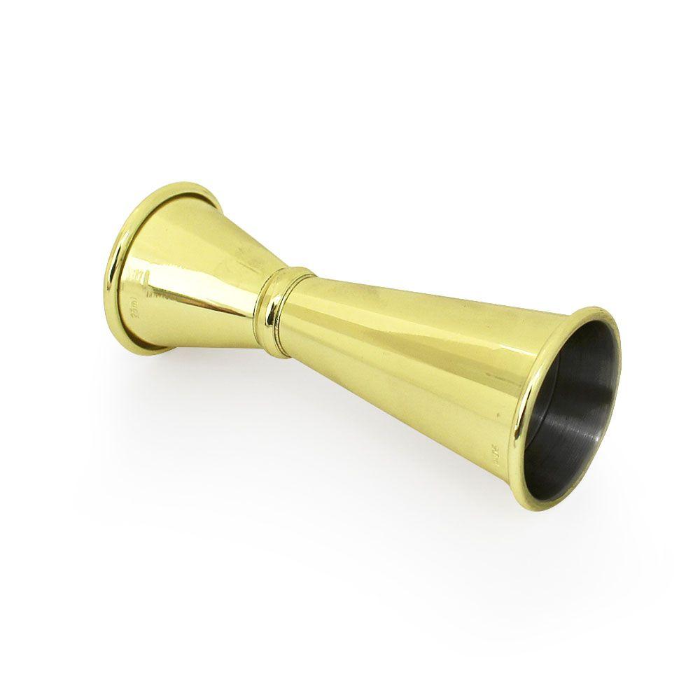 Dosador Dourado Japanese 25mlx50ml com marcação