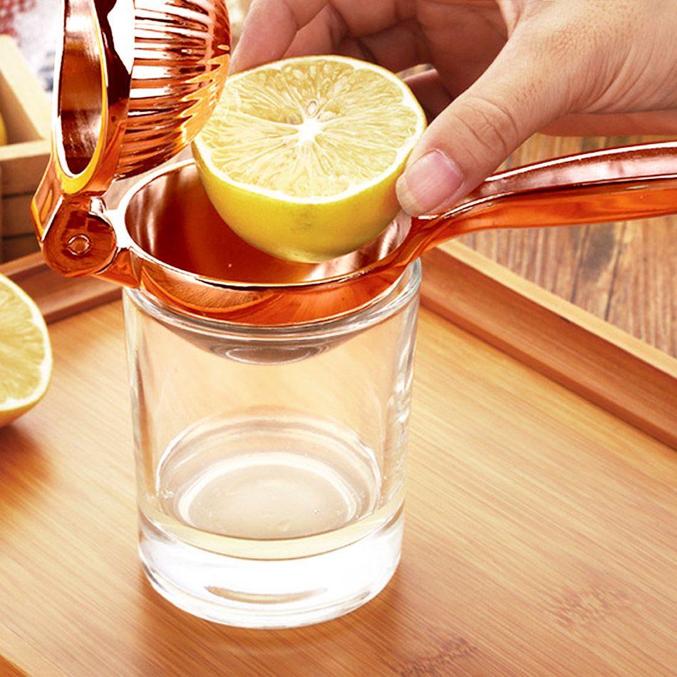 Espremedor de Limão Zinco Robusto Cobreado