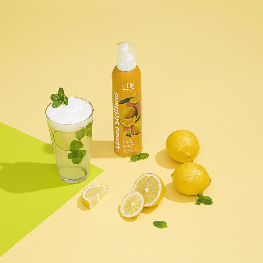 Espuma de Limão Siciliano para Coquetéis BeGIN 200g