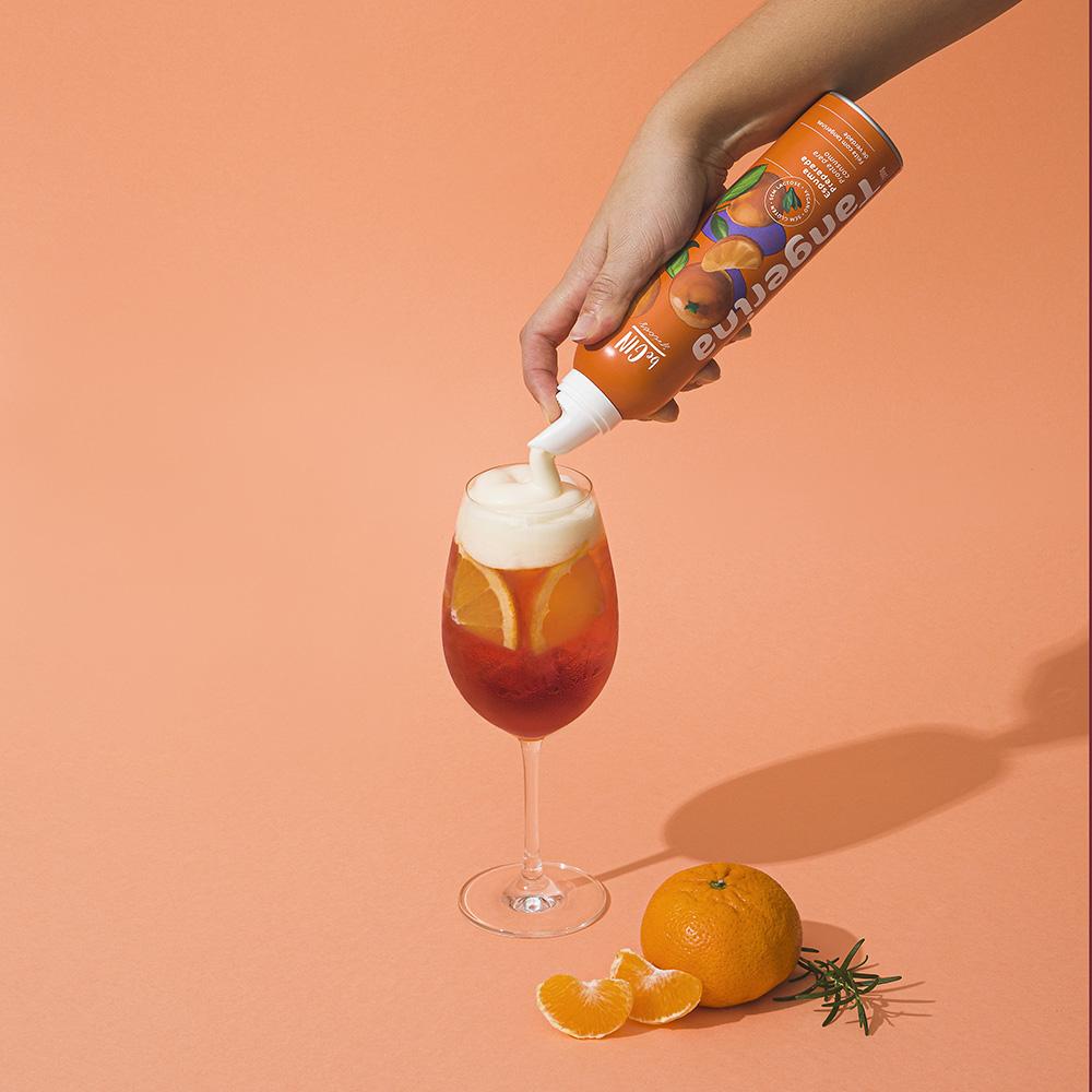 Espuma de Tangerina para Coquetéis Spray beGIN Spices 200g