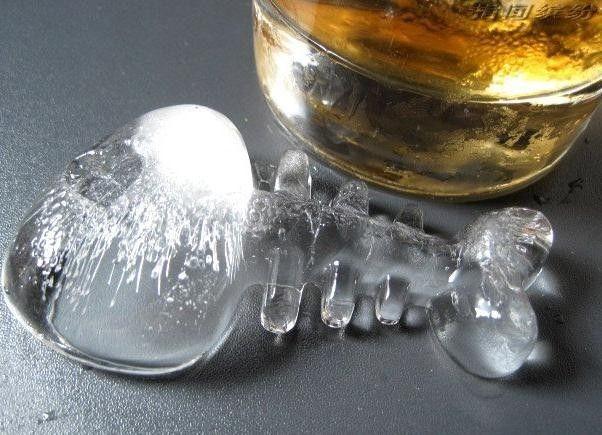 Forma Bala de Peixe - Gelo e Molecular
