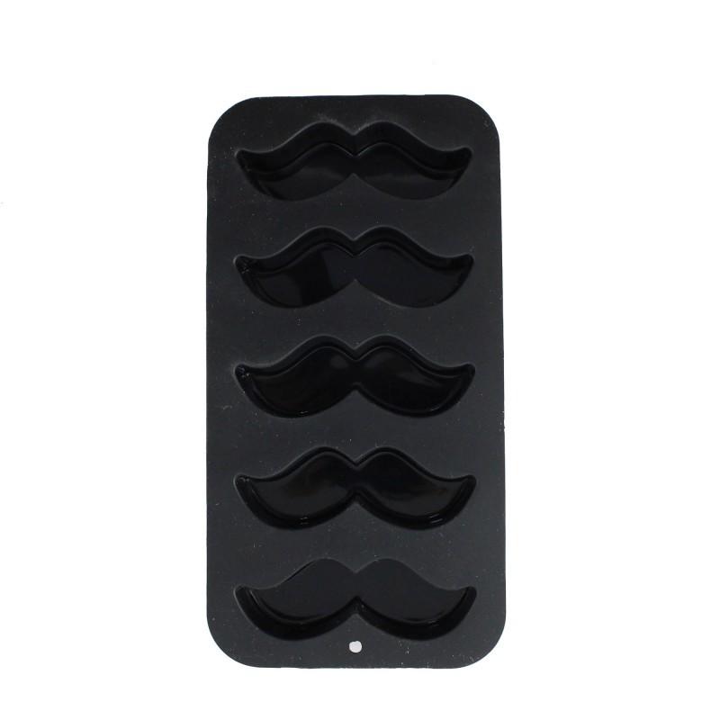 Forma Bigode Mustache - Gelo e Molecular