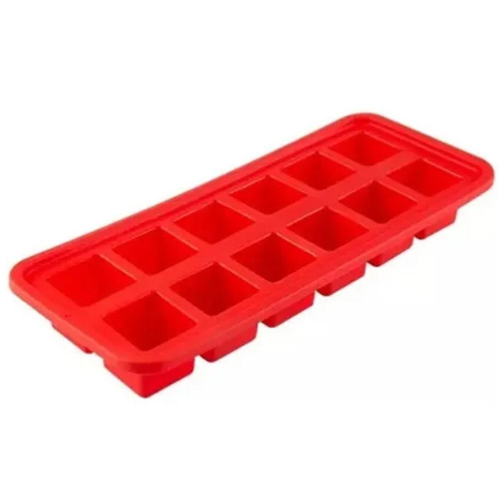 Forma de Gelo 12 Cubos Em Silicone MimoStyle