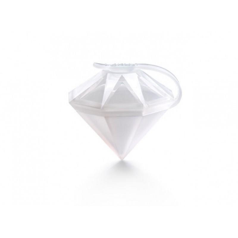 Forma de Gelo Diamante 6,4cm