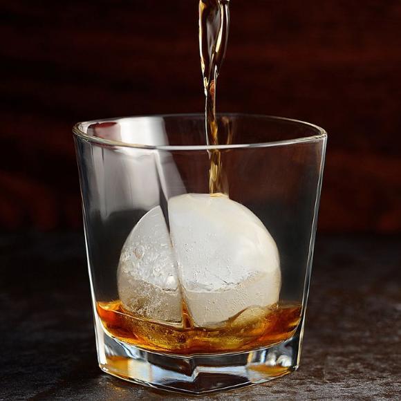 Forma de Gelo Redonda Ice Ball 6cm Unidade