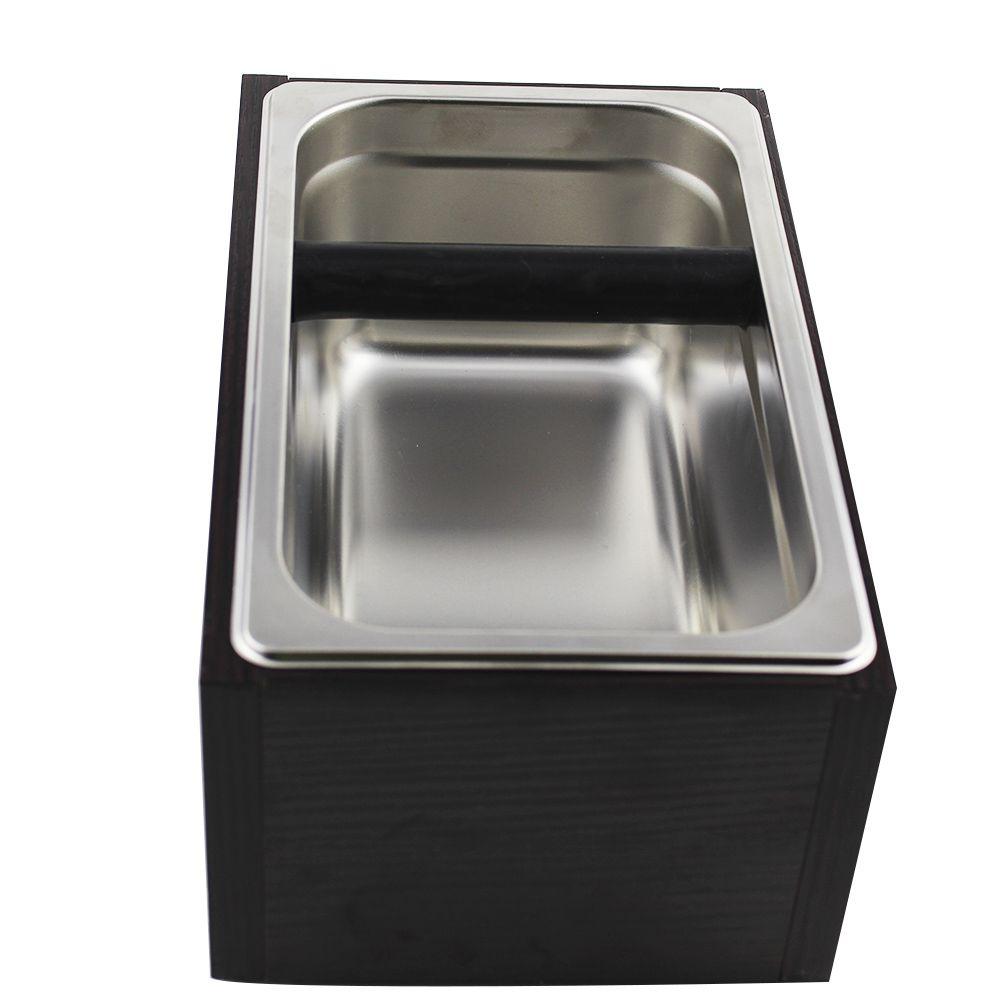 Batedor para Borra de Café com Caixa Base